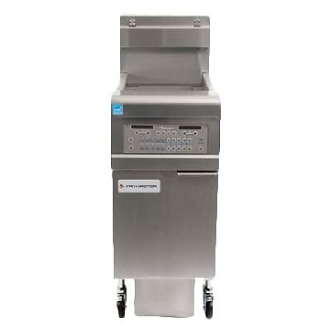 Frymaster FPGL130C - OCF30 Fryer, gas, floor model, 30 lb. capacity, built-in filtration, oil-conserving