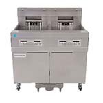 Frymaster 21814EF - Fryer Battery, electric, (2) 60 lb. capacity each, filtration system, oil conserving,