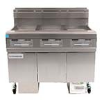 Frymaster FPGL330CA - OCF30 Fryer Battery, gas, (3) 30 lb. capacity each, built-in filtration, oil-conserving