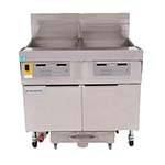 Frymaster FPLHD265 - Fryer Battery, gas, (2) 100 lb. cap each, built-in filtration, low flue temperature
