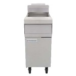 Frymaster MJ140 - Performance Fryer, gas, floor model, 40 lb. capacity, open frypot design