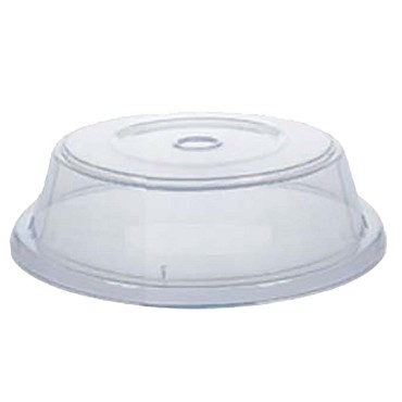 "GET CO-103-CL - Plate Cover, fits 10-3/4 to 11.8"" round plate, clear, (Case of 12)"