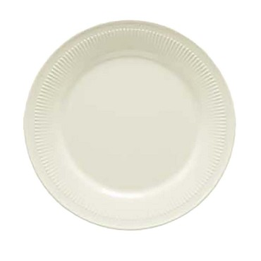 "GET E-7-P - Princeware Plate, 7"" dia., fluted edges (Case of 2 Dozen)"