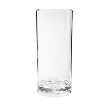 "GET H-9-1-SAN-CL - Hi Ball, 9 oz., 3"" dia. x 5"" tall, clear (Case of 2 Dozen)"