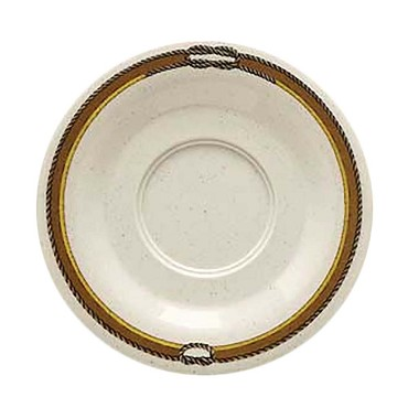 "GET SU-2-RD - Rodeo/Bake & Brew Saucer, 5-1/2"" dia., (Case of 48)"