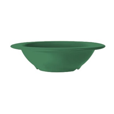 GET B-127-FG - Mardi Gras Bowl, 12 oz., round, narrow rim, rainforest green, (Case of 24)
