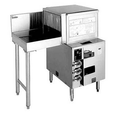 "Glastender GT-18+1L - Glasswasher Station, front-to-side pass-thru, 36""W x 24""D O.A."