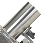 Globe 699-BAS - Vegetable Hopper, 14'' long x 7'' diameter stainless steel food tube chute