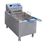 Globe PF16E - Countertop Electric Fryer, 16 lb. Capacity
