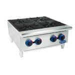 Globe C24HT - Chefmate Hot Plate, countertop, natural gas