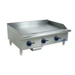 Globe C36GG - Chefmate 36 in. Griddle, Gas