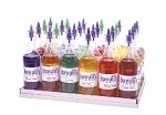 Gold Medal 2724A - Shave Ice Bottle Rack, holds 20 #1059 shave ice flavor bottles,