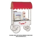 Gold Medal 2936SK - Steerable Sno-Kone Wagon, White, 36