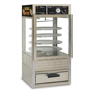 Gold Medal 5552-00-000 - Oven/Warmer Combo For Pizza or Pretzels