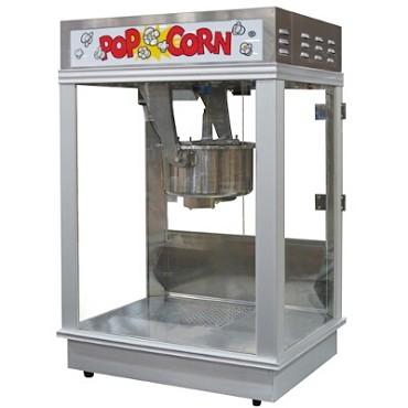Gold Medal 2001ST - Citation Popcorn Machine, stainless steel dome