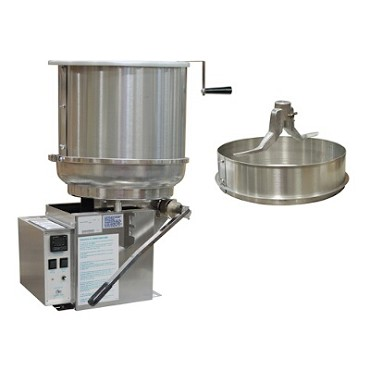 Gold Medal 2182EL - Kandy King Nut Cooker, Left Hand Dump