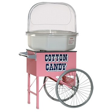 Gold Medal 3149 - Pinkie Floss Cart, for cotton candy, (cart only)
