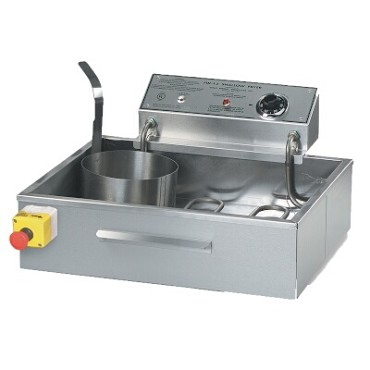 "Gold Medal 8050D - FW-12 Fryer, 27 lb. capacity, (4) 8"" funnel cake capacity, tubular heat"