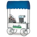 Gold Medal 2129HF - Shave Ice Wagon, 48