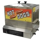 Gold Medal 8007DE - Hot Dog Steamer with Dry Element