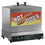 Gold Medal 8012 - Super Steamin' Demon, 120 hot dog, 60 bun capacity