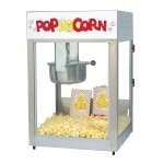 Gold Medal 2389 - Popcorn Machine, electric, countertop, 8 oz. E-Z Kleen kettle