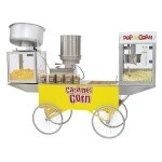 Gold Medal 2618 - Lobby Master 3-in-1 Wagon, for: Popcorn, Karmel Corn, and Cheddar Corn Machines