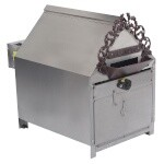 Gold Medal 5081 - Peanut Roaster, electric, 10 lb. capacity, 35-minute cook cycle, stainless steel