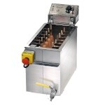 Gold Medal 8068FL - King Dog Corn Dog Fryer, Foot-Long, electric, 50 lb. oil capacity