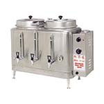 Grindmaster CH100N - Chinese Hot Tea Urn, electric, twin 3 gallon capacity each