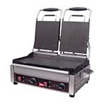 Grindmaster SG2LF - Sandwich/Panini Grill, double, (2) 7-1/4