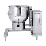 Groen DEE/4-40C - Tilting Kettle, electric, 40-gallon capacity, 2/3 jacket, floor mounted control console