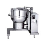 Groen DH-60C - Tilting Kettle, gas, 60-gallon capacity, crank tilt, 2/3 jacket, floor mounted control console supports