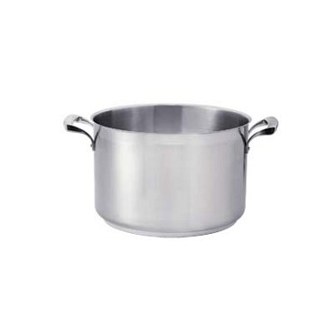 "Browne 5724188 - Sauce Pot, 11 qt., 11"" dia. x 8-5/8""H, without cover, stainless steel"
