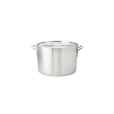 "Browne 5814116 - Stock Pot, 16 qt., 11"" x 10"", without cover, 2 gauge, aluminum"