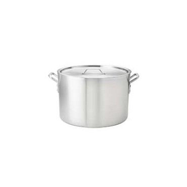 "Browne 5814120 - Stock Pot, 20 qt., 11-3/4"" x 11"", without cover, 2 gauge, aluminum"