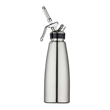 "Browne 574356 - Whipped Cream Dispenser, 1 qt., 4-1/4"" dia. x 14-1/5""H, stainless steel"