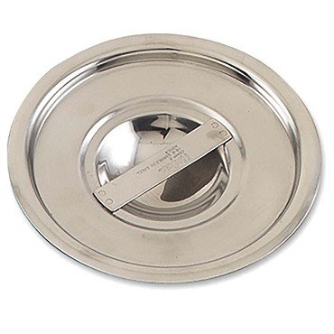 Browne CBMP12 - Bain Marie Pot Cover, fits BMP12, stainless steel