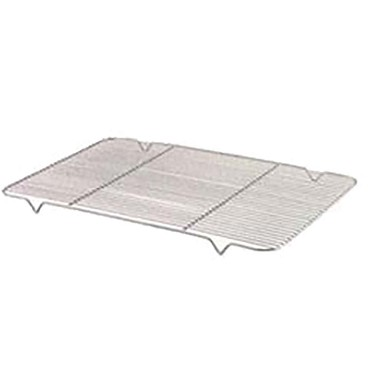 "Browne 575524 - Rib Grate, 15"" x 25"", fits full size pan (18"" x 26""), nickel-plated steel wire"