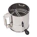 Browne 1260 - Rotary Flour Sifter, 8 cups, 6
