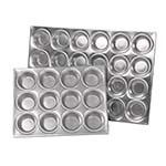 Browne 1612A - Muffin/Cup Cake Pan, 10-3/4