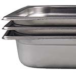Browne 22002 - Steam Table Pan, full size, 8.2 qt., 2-1/2