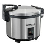 Hamilton Beach 37560R - Proctor-Silex Commercial Rice Cooker/Warmer, 60 cup cooked capacity