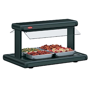 "Hatco GR2BW-30 - Buffet Warmer, 30"", sneeze guards, (2) bulbs, (2) 12"" x 20"" pans"