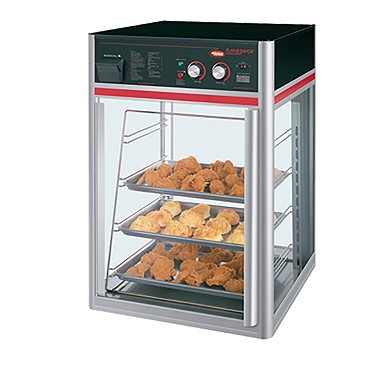 Hatco FSDT-1X - Heated Display Case, (1) door, (4) tier pan rack without motor