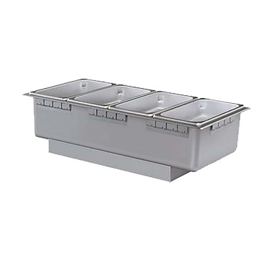 Hatco HWB-FULD - Drop-In Hot Food Well, drain, non-insulated, full pan
