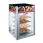 Hatco FSDT-2X - Heated Display Case, (2) door, (4) tier pan rack without motor