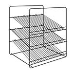 Hatco FSDT3SAR - 3 Shelf Angle Rack (shelves slant at 15° angle), ADD
