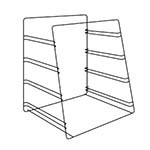 Hatco FSDT4TPR - (4) Tier Pan Rack (accommodates half size bun pans), ADD