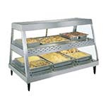 Hatco GRHD-3PD - Heated Display Case, (3) pan dual shelf, with 4